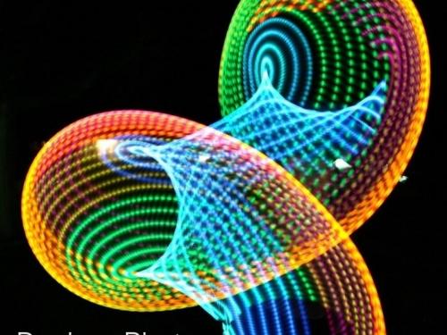 rainbow hoop, hula hoop, festival, sacred geometry, bassnectar, hula hoop spinning, festival gear, flow toys, moodhoops, led hoop, hoop flow, future hoop, light show, psychedelic hula hoop, custom hula hoop, cheap led hoop, best led hoop