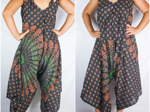 Boho Jumpsuit, Boho Clothing, Swimsuit Cover Up, Wide Leg Jumpsuit, Summer Jumpsuit, Hippie Jumpsuit, Gypsy Jumpsuit, Women's Jumpsuit, jumpsuit romper, hippie dress,