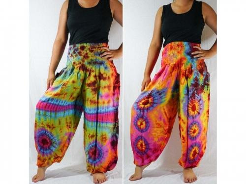 thai pants, thailand pants, aladdin pants, yoga pants, Hippie Pants, Hippie Pants Women, Womens Hippie Pants, Festival Pants, Festival Clothing, Boho Pants, Music Festival Clothes Cotton Pants, harem pants, flowy pants, buddha pants, buddhist pants, meditation pants, yoga pants, tie dye harem pants